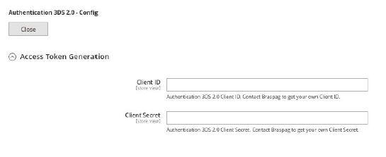 Authentication 3DS 2.0 Config