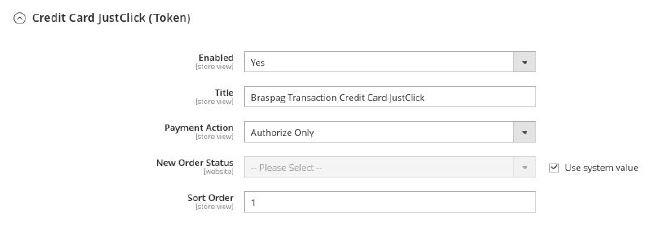 Credit Card JustClick