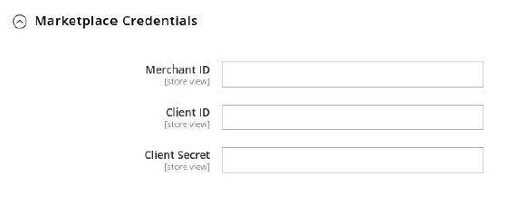 Marketplace Credentials