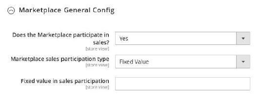 Marketplace General Config
