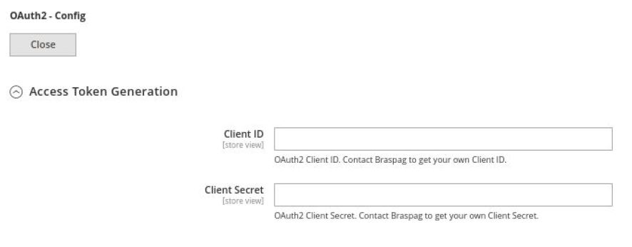 OAuth2 - Config